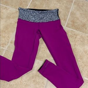 LuLuleom Purple Leggings
